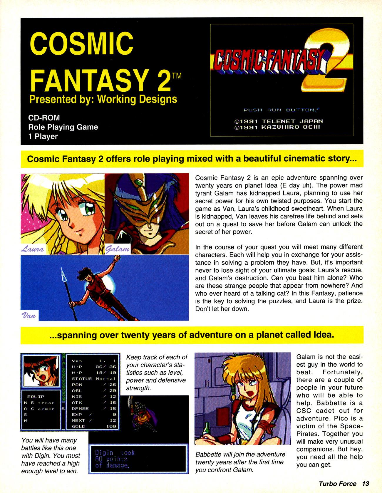 TurboForce Magazine #02 (September 1992) :: TurboPlay