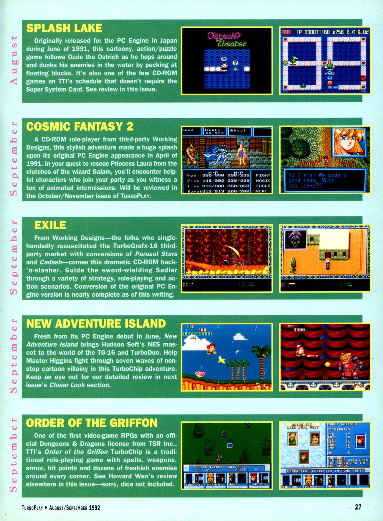 TurboPlay Magazine #14 (August/September 1992) :: TurboPlay